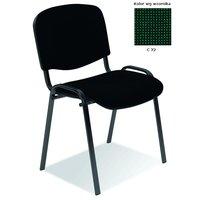 Bernt kontorsstol C32 - Svart/Grön