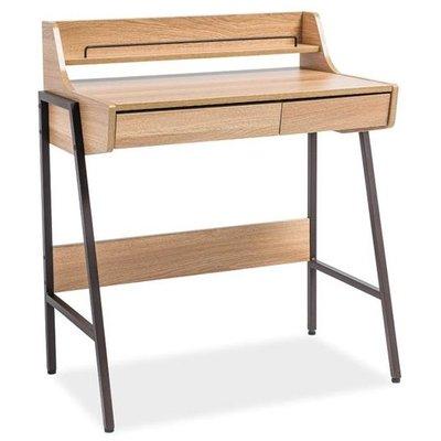 Emerson skrivbord - Mörkbrun