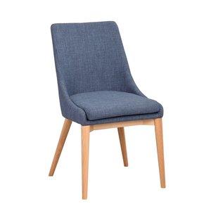 Bethan stol - Blå/ek
