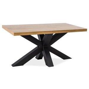 Soffbord Finley 110 cm - Ek/svart
