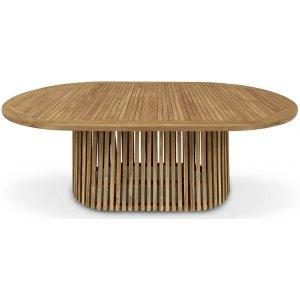 Saltö ovalt matbord i teak - 200 cm