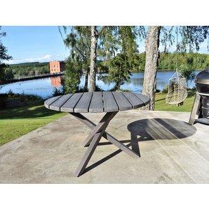 Scottsdale matbord runt 112 cm - Shabby Chic