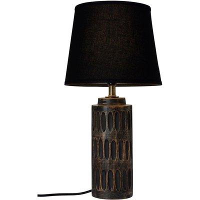 Muscot bordslampa - Mörk trä/svart