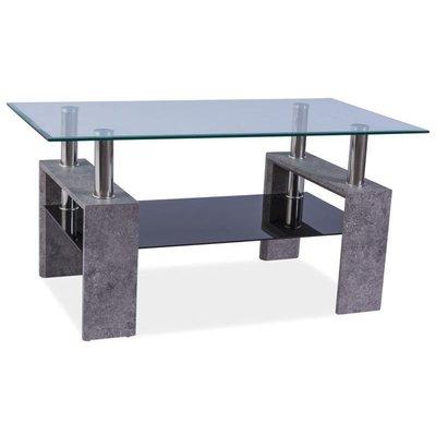 Soffbord Clemson - Svart/grå
