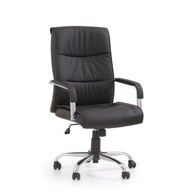 Jordan kontorsstol - svart (Konstläder)