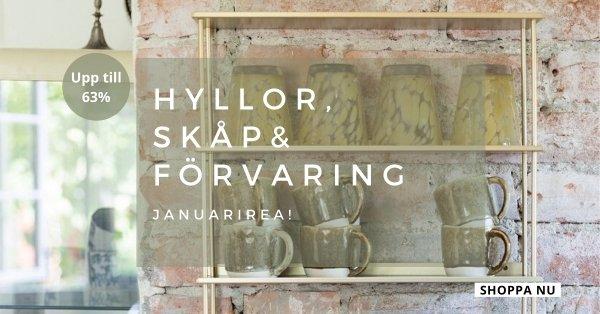 Januarirea - Hyllor, skåp & förvaring - Upp till 63%