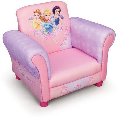 Disney Princess fåtölj - Rosa