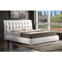 Säng Roseville färg vit