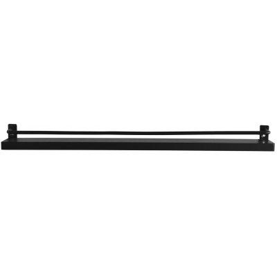 Ester tavelhylla - 60 cm (svart)