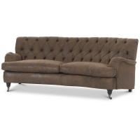 Howard Barkley svängd 4-sits soffa - Vintage