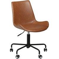 Hype kontorsstol - Vintage ljusbrun