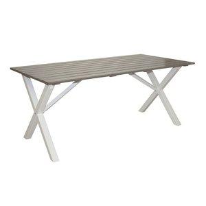 Matbord Scottsdale 170 cm - Shabby Chic grå