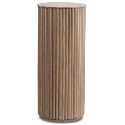Cylinder piedestal - Whitewash