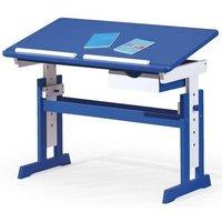 Tove skrivbord - Blå/Vit