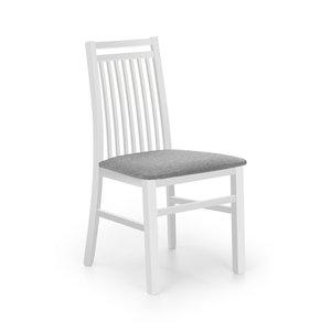 Lola matstol - Vit/grå
