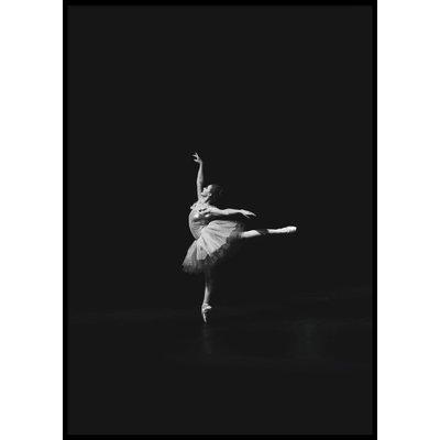 BALLET WOMAN No 2 - Poster 50x70 cm