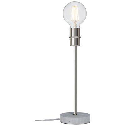 Converto bordslampa - Grå/borstad krom