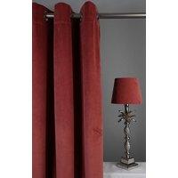 Velvet Gardinpar 240x140 cm - Korallrosa
