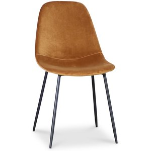 Bjurträsk stol - Guldig sammet