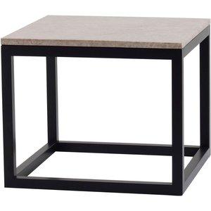 Keira soffbord 60 - Marmor/svart