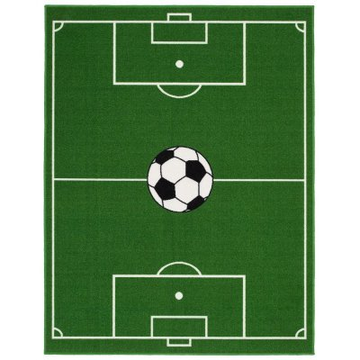 Fotbollsmatta - Grön - 133x170 cm