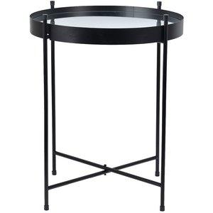 Ronja lampbord - Svart / spegelglas