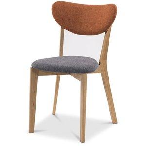 Nordic matstol - Grå/Orange