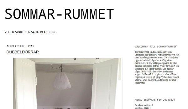 SOMMAR-RUMMET