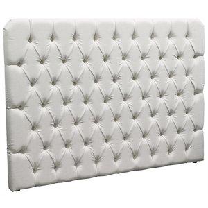 Champton sänggavel 180 cm - Linne natur