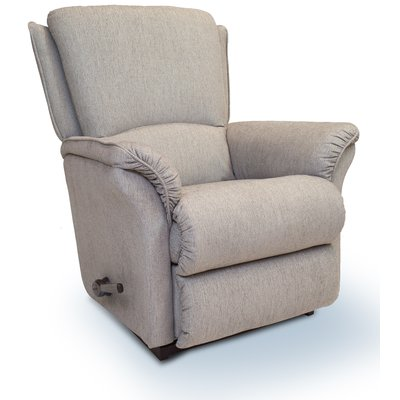 Lazboy Martini reclinerfåtölj i tyg - Ljus grå