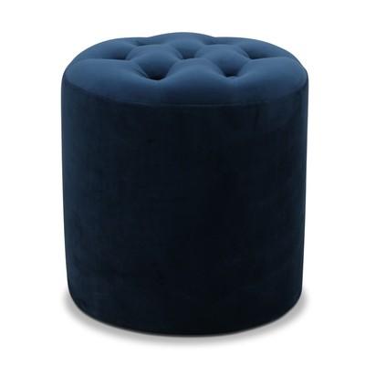 Space sittpuff - Blå sammet