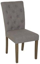 Oliva stol - Grå (Tyg)