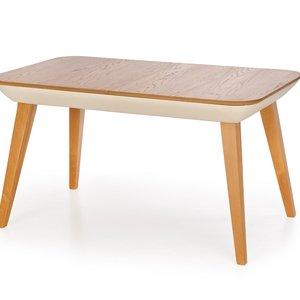 Wilbur matbord utdragbart - Beige/honung ek