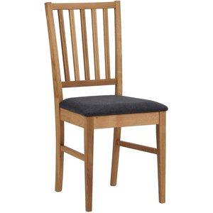 Scarlett stol - Ek/grå