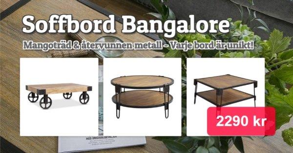 Unika och prisvärda soffborden Bangalore!