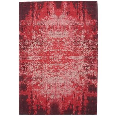 Handgjord chenillematta Sonora - Röd