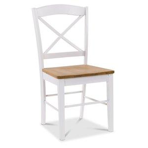 Merida stol - Vit / ek