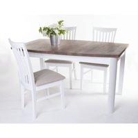 Toledo matgrupp -Bord inklusive 4 st stolar