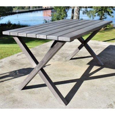 Scottsdale matbord 150 cm -Grålaserad