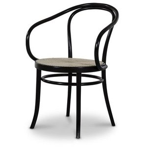 Stol No30 By Michael Thonet - Black stained/Rotting