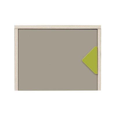 Willhelm väggskåp - Ek/beige