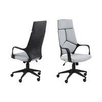 Paradise skrivbordsstol - Ljusgrå/svart