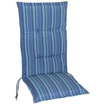Vinge dyna till positionsstol och hammock - Blå/Ljusblå (Randig)