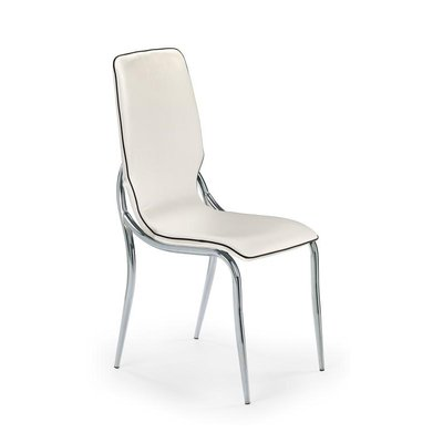 Jillian stol - vit-svart