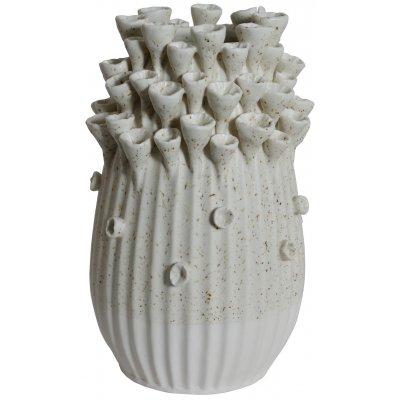 Vas Caleta H29 cm - Vit
