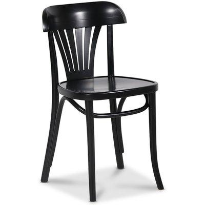 Böjträ stol No 24 klassiker - Svart