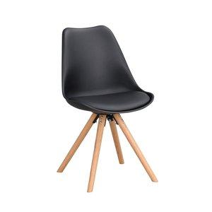 Mylo stol - Svart/ek