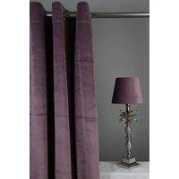 Velvet Gardinpar 240x140 cm - Lila