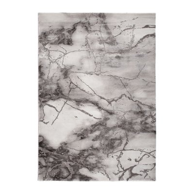 Maskinvävd matta - Craft Concrete Silver
