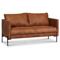 Kingsley 2,5-sits soffa - Cognac (Ecoläder)